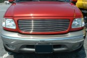 T-Rex® - Horizontal Polished Billet Air Dam Bumper Grille Insert