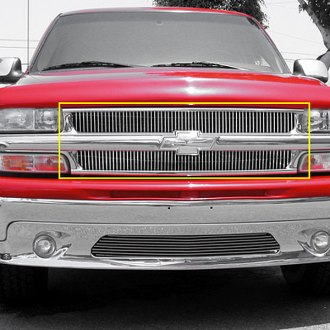 T-Rex® - Vertical Polished Billet Main Grille Insert