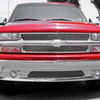 T-Rex® - 2-Pc Vertical Polished Billet Grille