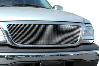 T-Rex® - 1-Pc Vertical Polished Billet Grille