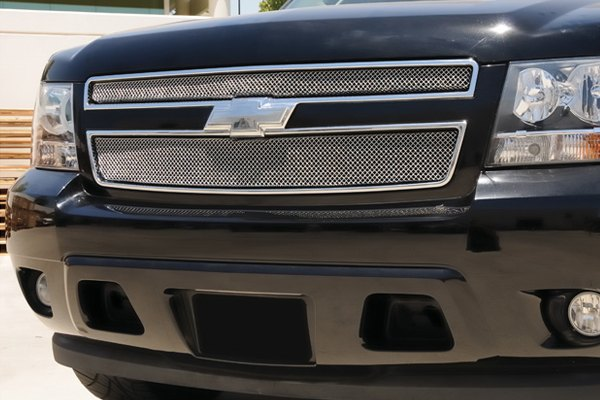 T-Rex® - 2-Pc Sport Series Formed Chrome Mesh Grille
