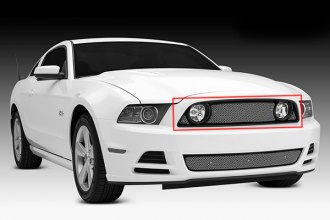 T-Rex® - 3-Pc Sport Series Formed Chrome Mesh Grille