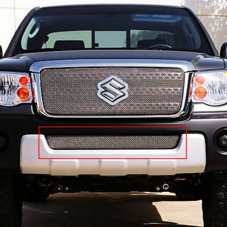 T-Rex® - 1-Pc Sport Series Chrome Mesh Bumper Grille