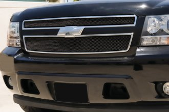 T-Rex® - 2-Pc Sport Series Black Powder Coated Formed Mesh Main Grille