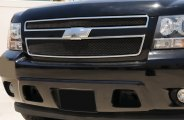 T-Rex® - 2-Pc Sport Series Formed Black Mesh Grille Overlay