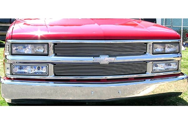 T-Rex® - Chrome Grille Shell Assembly with Billet
