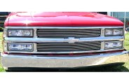 T-Rex® 50058 - Polished Grille Shell Assembly with Billet