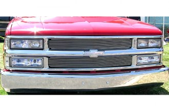 T-Rex® 50058 - Horizontal Chrome Polished Billet Main Grille Assembly