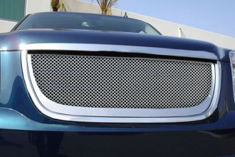 T-Rex® - Upper Class Polished Mesh Grille with Mesh (54171) Installed