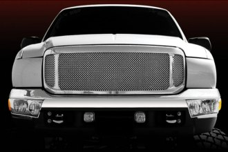 T-Rex® - Polished Mesh Main Grille Assembly