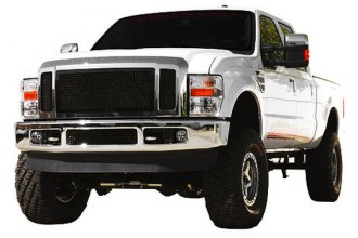 T-Rex® - 3-Pc Upper Class Series Black Mesh Grille