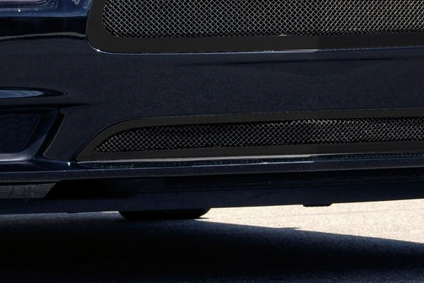 T-Rex® - Upper Class Series Black Formed Mesh Bumper Grille