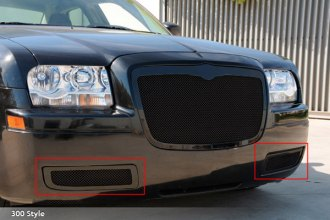 T-Rex® 52472 - Upper Class Polished Mesh Bumper Grille