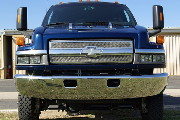T-Rex® - 2-Pc Upper Class Polished Mesh Grille
