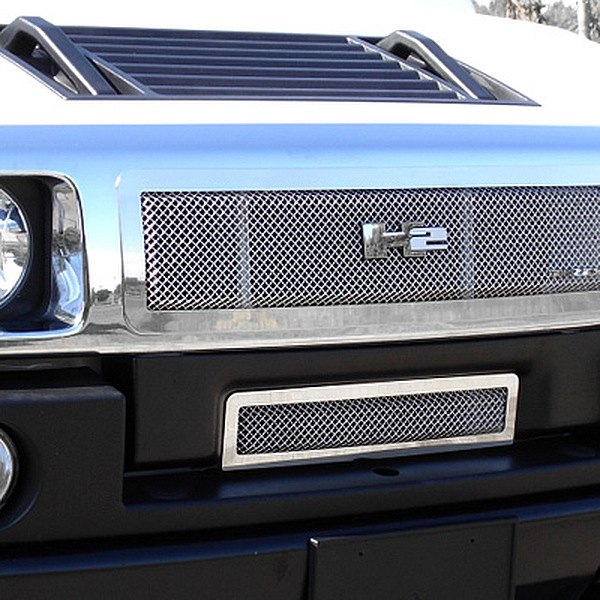 T-Rex® - Upper Class Series Polished Formed Mesh Main Grille