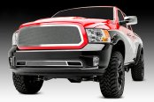 T-Rex® - 1-Pc Upper Class Series Polished Formed Mesh Main Grille