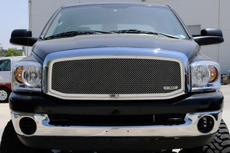 T-Rex® - 1-Pc Upper Class Polished Mesh Grille Insert