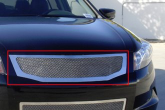 T-Rex® 54728 - 1-Pc Upper Class Series Polished Mesh Main Grille