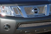T-Rex® - 3-Pc Upper Class Series Polished Mesh Main Grille