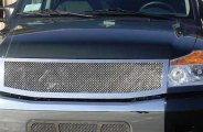 T-Rex® - 1-Pc Upper Class Polished Mesh Grille