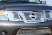 T-Rex® - 3-Pc Upper Class Polished Mesh Grille
