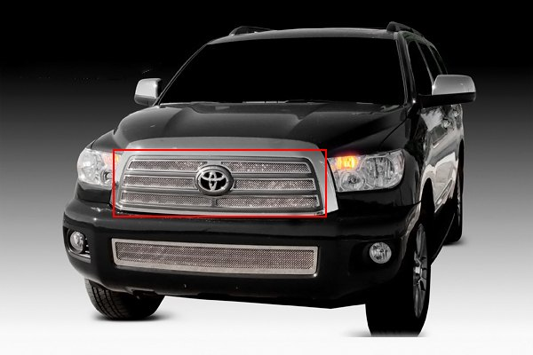 T-Rex® - 4-pc Upper Class Polished Mesh Grille