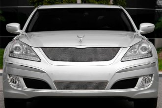 T-Rex® 55496 - Upper Class Series Polished Formed Mesh Bumper Grille