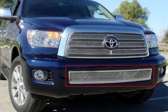 T-Rex® - Upper Class Polished Mesh Bumper Grille