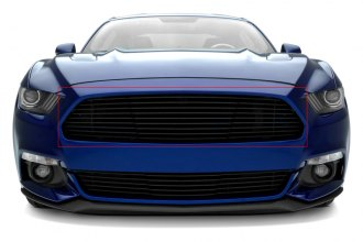 T-Rex® 6215301 - 1-Pc Laser Horizontal Black Billet Main Grille