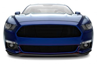 T-Rex® 6225301 - 1-Pc Laser Horizontal Black Billet Bumper Grille