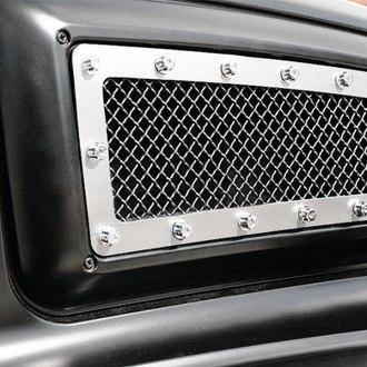 T-Rex® - X-Metal Series Polished Studded Side Vent Grille