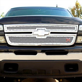 T-Rex® - 2-Pc X-Metal Series Polished Mesh Grille