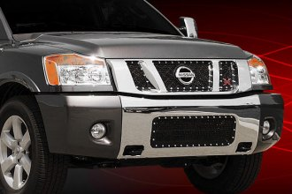 T-Rex® - 3-Pc X-Metal Series Black Mesh Grille