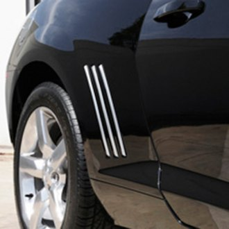 T-Rex® - Defenderworx Chrome Quarter Panel Fender Vent Grilles