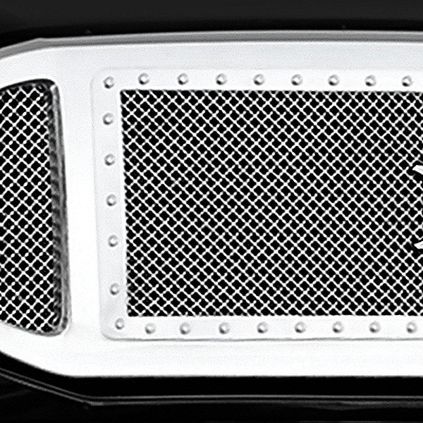 T-Rex® - Chrome Grille Shell Assembly with Polished Mesh