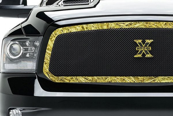 Image may not reflect your exact vehicle! T-Rex® - 1-Pc Graphic Series Custom Style Avery-KW1 Mesh Main Grille