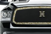 Image may not reflect your exact vehicle! T-Rex® - 1-Pc Graphic Series Custom Style Digi-Cam Mesh Main Grille