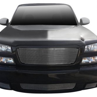T-Rex® - 1-Pc Full Opening Style Polished Horizontal Billet Grille