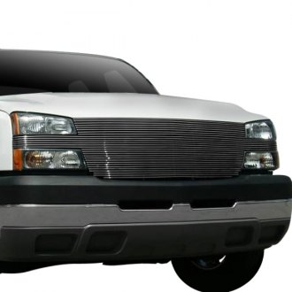 "T-Rex® - 1-Pc ""Full Face"" Polished Horizontal Billet Grille"