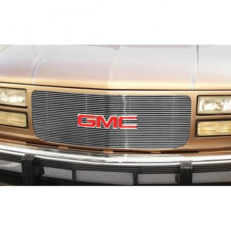 1998 gmc yukon custom grilles billet mesh led chrome black 1998 gmc yukon custom grilles billet
