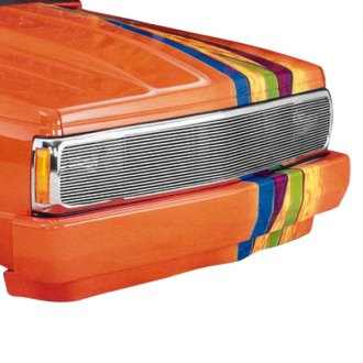 T-Rex® - 1-Pc Phantom Polished Horizontal Billet Grille