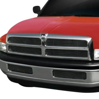 T-Rex® - 4-Pc Look Polished Horizontal Billet Grille