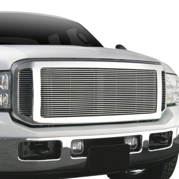 T-Rex® - 3-Pc Look Polished Horizontal Billet Main Grille