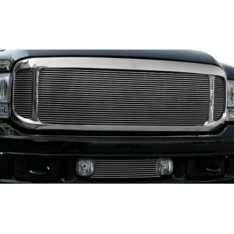 T-Rex® - 3-Pc Look Polished Horizontal Billet Grille