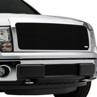 2013 Ford F 150 Custom Grilles Billet Mesh Led Chrome