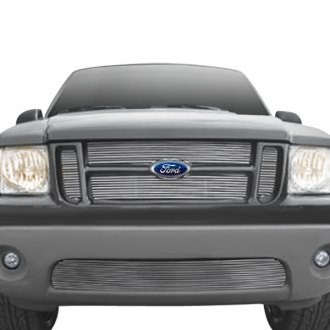 T-Rex® - 4-Pc Look Polished Horizontal Billet Main Grille