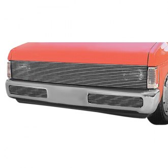 T-Rex® - 1-Pc Phantom Style Polished Horizontal Billet Main Grille