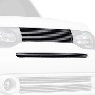 T-Rex® - 2-Pc Polished Horizontal Billet Grille Kit