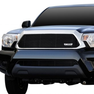 T-Rex® - 1-Pc Black Horizontal Billet Grille