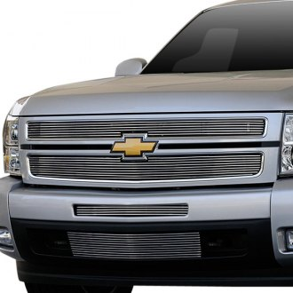 T-Rex® - 2-Pc Polished Horizontal Billet Grille